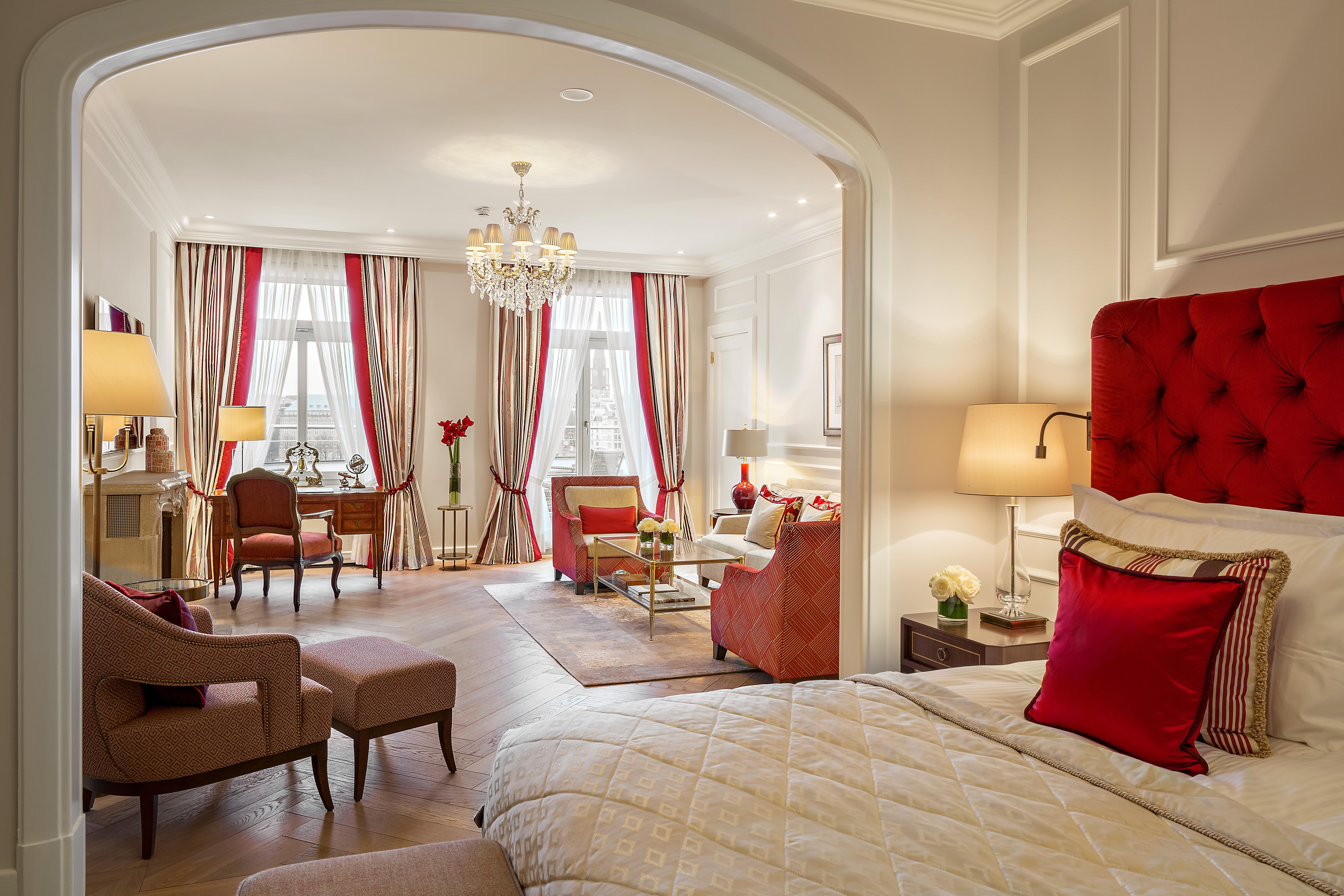 Pressebereich Fairmont Hotel Vier Jahreszeiten 5 Sterne